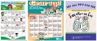 Free Eye Posters/Activity Books /Magnet