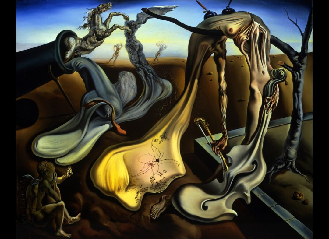 an introduction to the life and artwork by salvador dali Sigmund freud's influence upon salvador dali salvador dali's artwork and personality were influenced by many different people and entities dali's personal life.