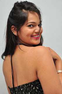 Ashwini in a Sleeveless Black Tank Top and Skirt Spicy Pics