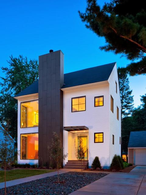 Contoh Desain Rumah Minimalis Modern