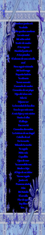 Poemas que contiene mi  página Versos a mis hijos y nietos Nº 2