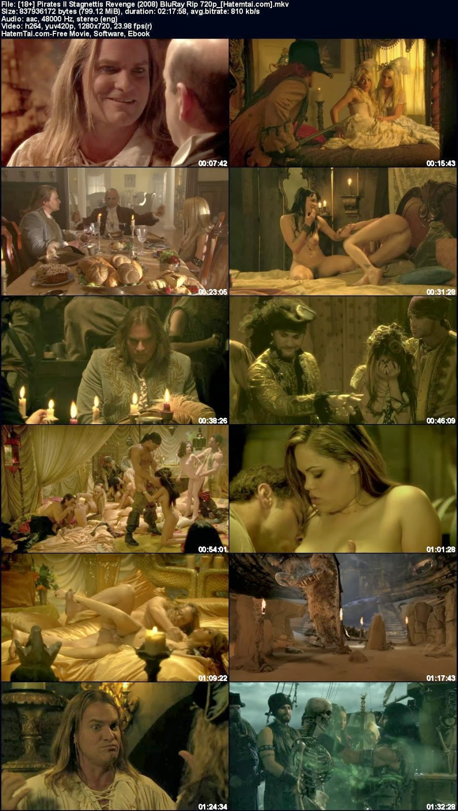 Pirates of sarebian porn vrrsion movie hd nude clip