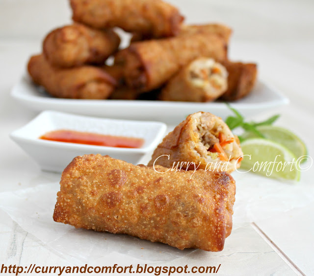 Kitchen simmer savory asian egg rolls throwback thursdays savory asian egg rolls throwback thursdays forumfinder Choice Image