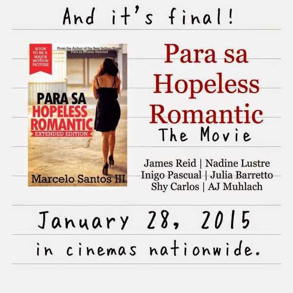 Watch Para sa hopeless romantic (2015) Online - Watch