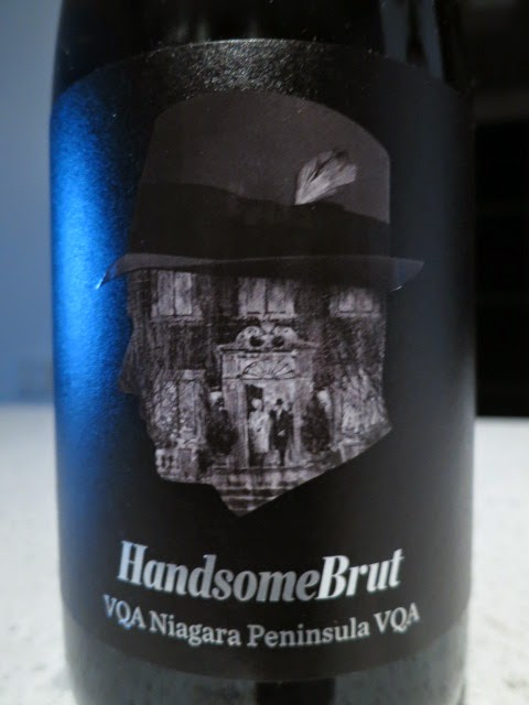 Wine Review of Handsome Brut from VQA Niagara Peninsula, Ontario, Canada