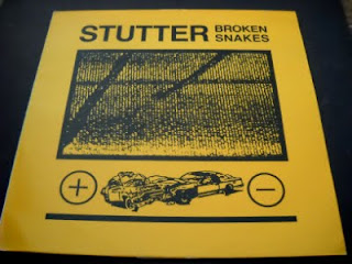 STUTTER-BROKEN SNAKES, LP, 1990, USA