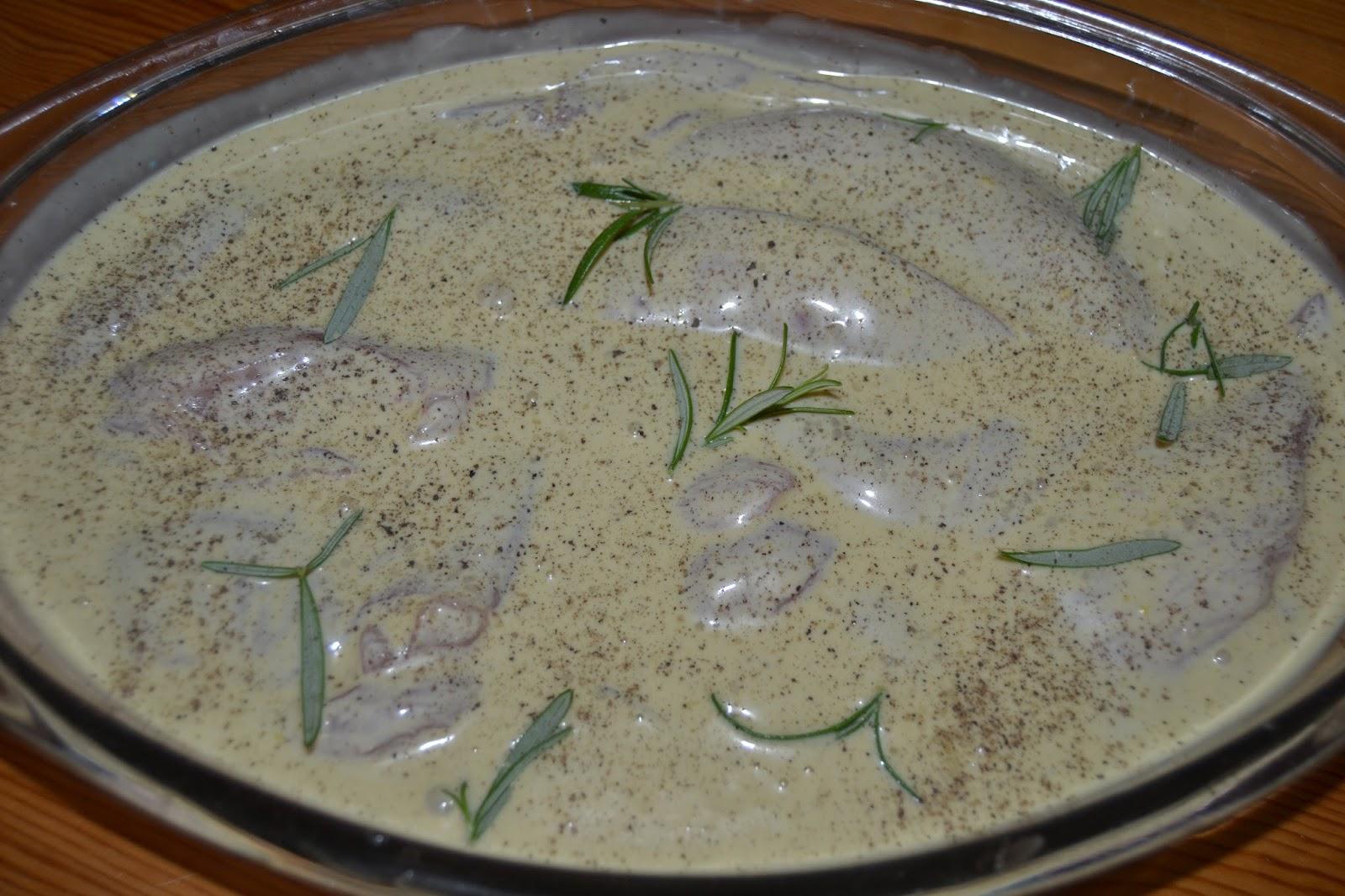 Mi taller de cocina pechugas de pollo al horno en salsa - Salsas para el pollo al horno ...