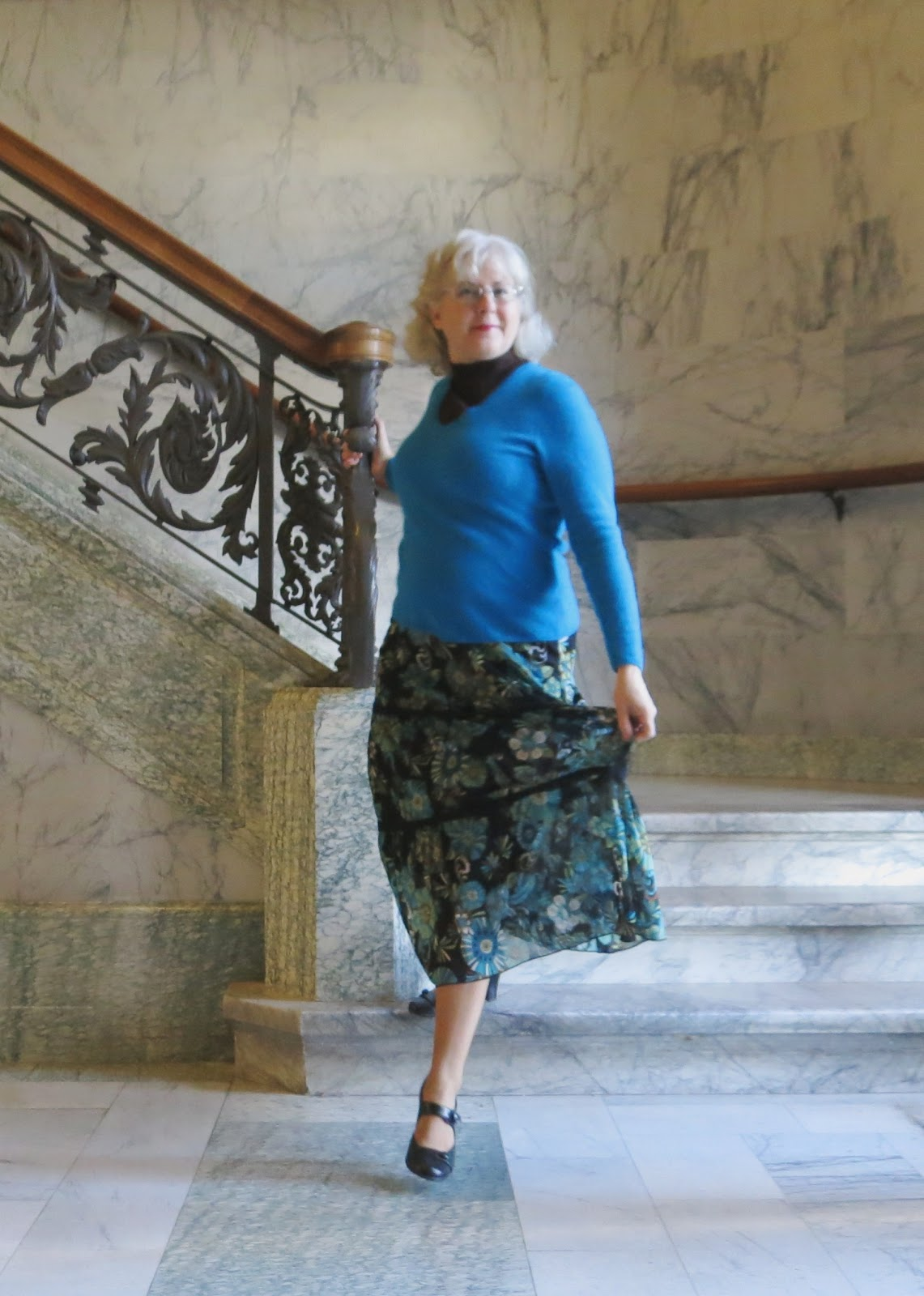 Thrift Shop Commando: Oh, How I Miss You Blogfest and Friday's Frock