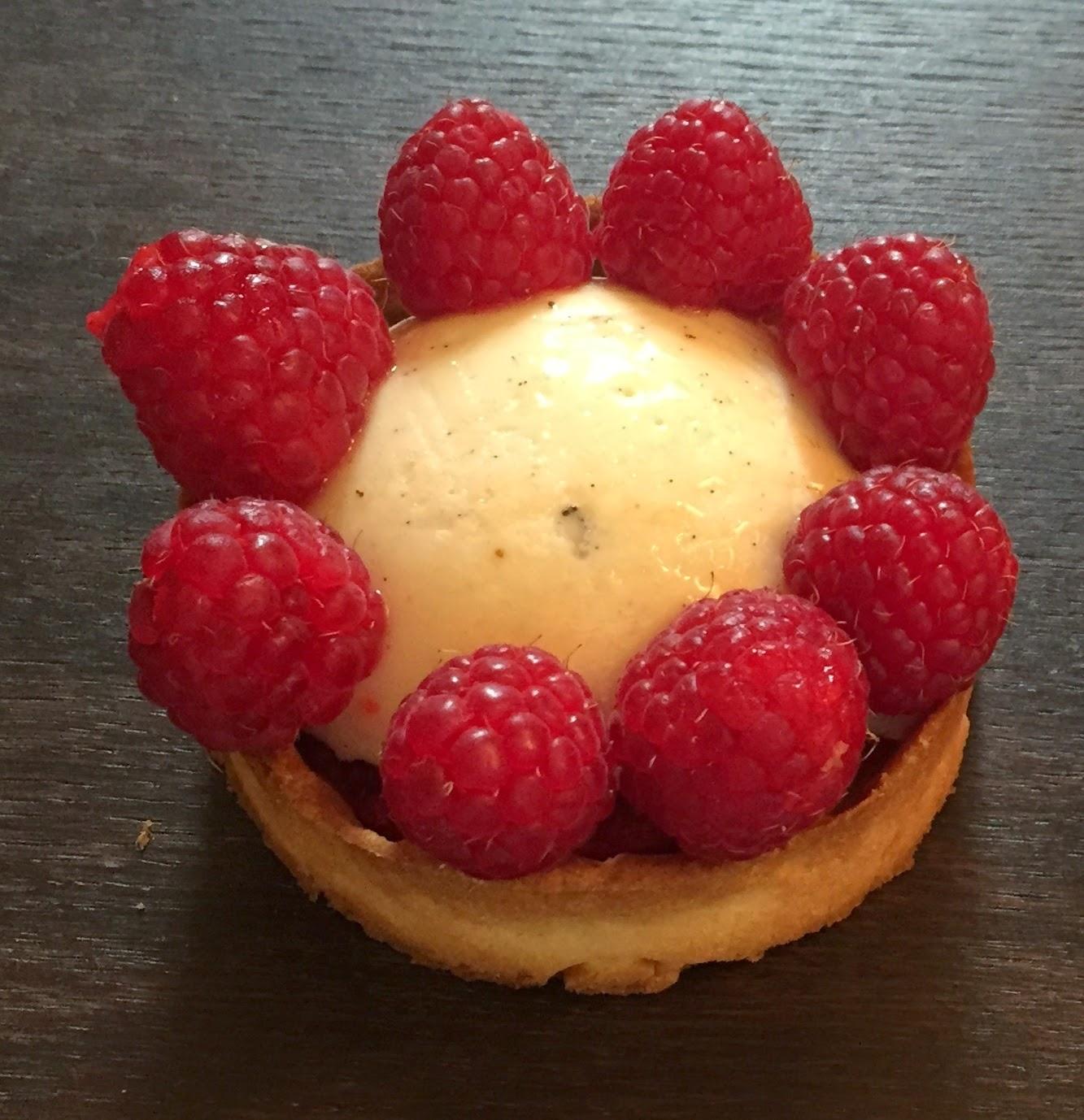 Tartelettes chiboust framboise