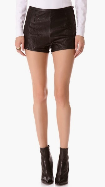Faux Leather Shorts by: Blank Denim @Shopbop.com