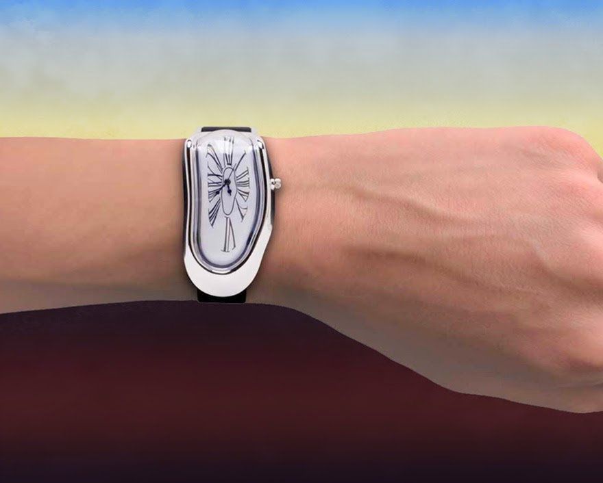 24 Of The Most Creative Watches Ever - Salvador Dalí's Persistence of Memory-Inspired Melted Wristwatch