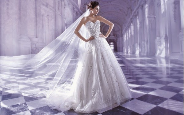 Romantic Wedding Dresses by Demetrios Couture 3