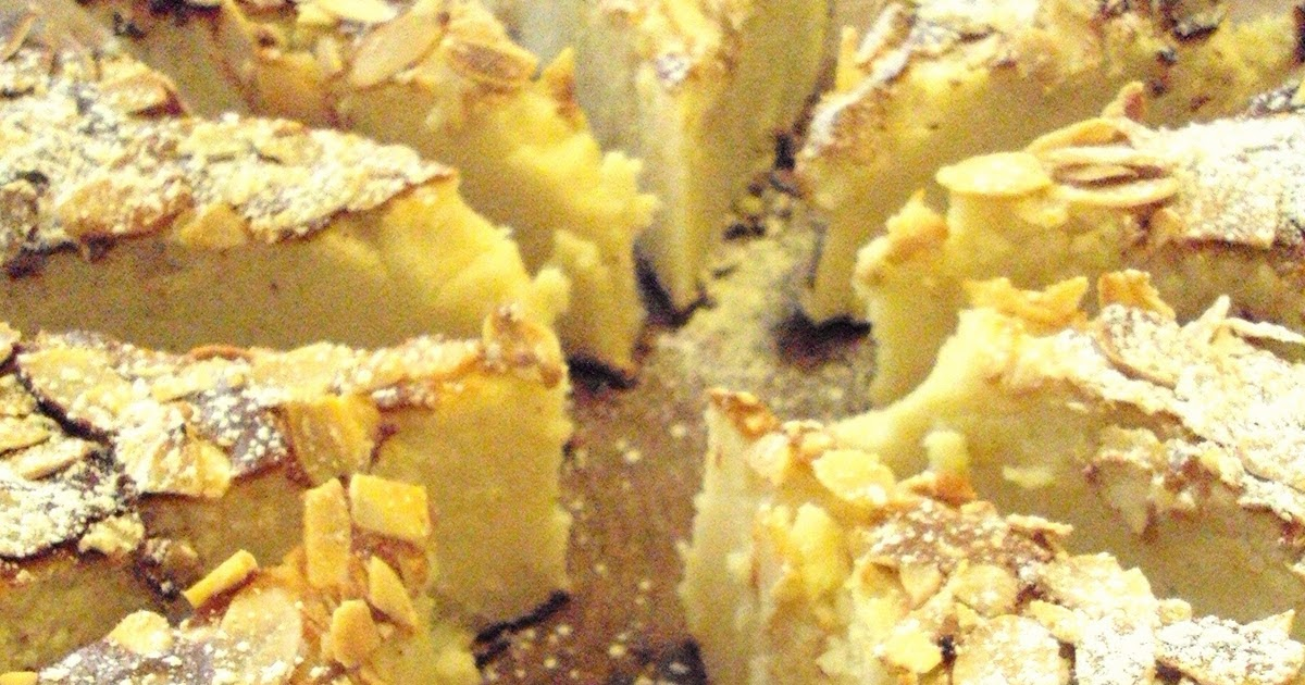 Damp Apple And Almond Cake