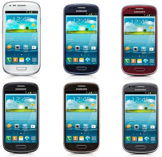 Samsung galaxy S3 mini, I890 colors available
