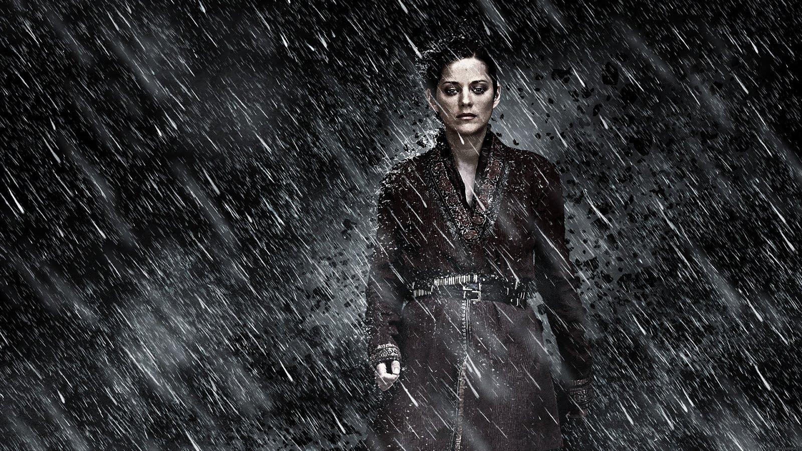 Talia al ghul dark knight rises