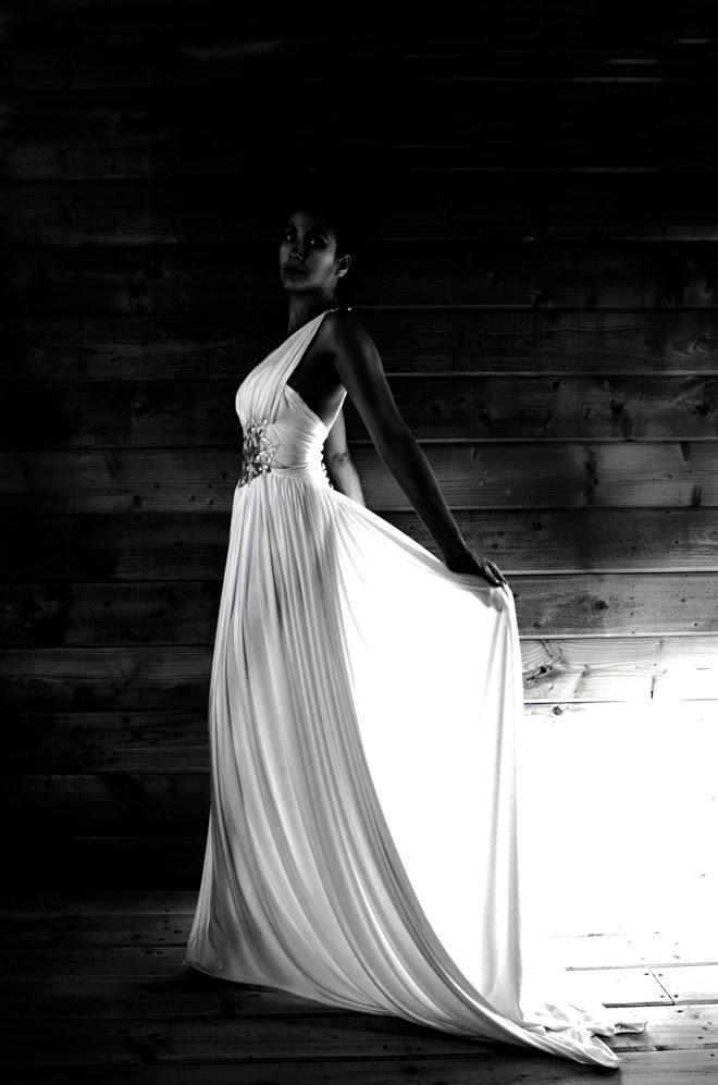 1940s goddess gown