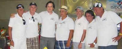 Todos vestindo a bela camisa dos Amigos do MP Lafer do Rio de Janeiro: José Carlos, Francisco Paz, Jean Tosetto, José Paiva, Glauco Cabral, Roberto Frazão e Rubem Restel.