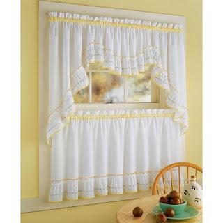 modern house: kitchen curtains 2011 ideas