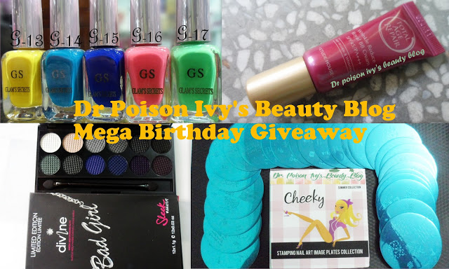 Mega Birthday Giveaway (International), ends 25 February