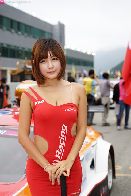 2 Ryu Ji Hye at CJ SuperRace R4 2012-Very cute asian girl - girlcute4u.blogspot.com