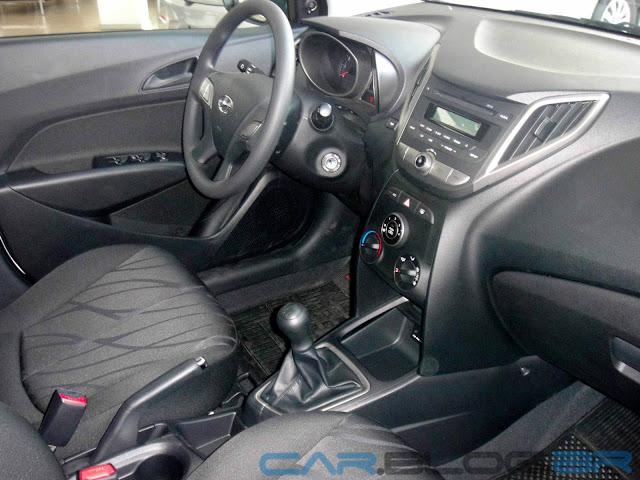Hyundai HB 20 Preto Onix - Comfort Plus - interior