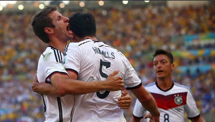 Keputusan Perlawanan German vs Perancis World Cup 2014 5-jun-2014
