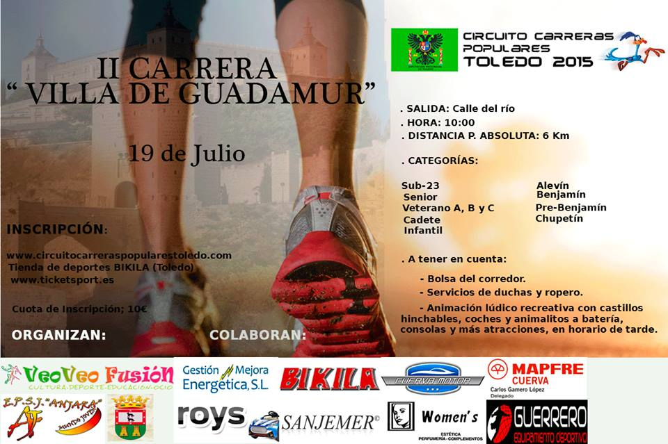 II Carrera Villa de Guadamur