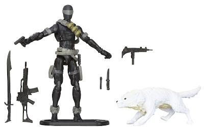 Hasbro GI Joe Retaliation Ultimate Snake Eyes with Wolf Timber Figure