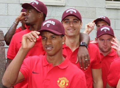 Man Utd Tour USA at Harvard University