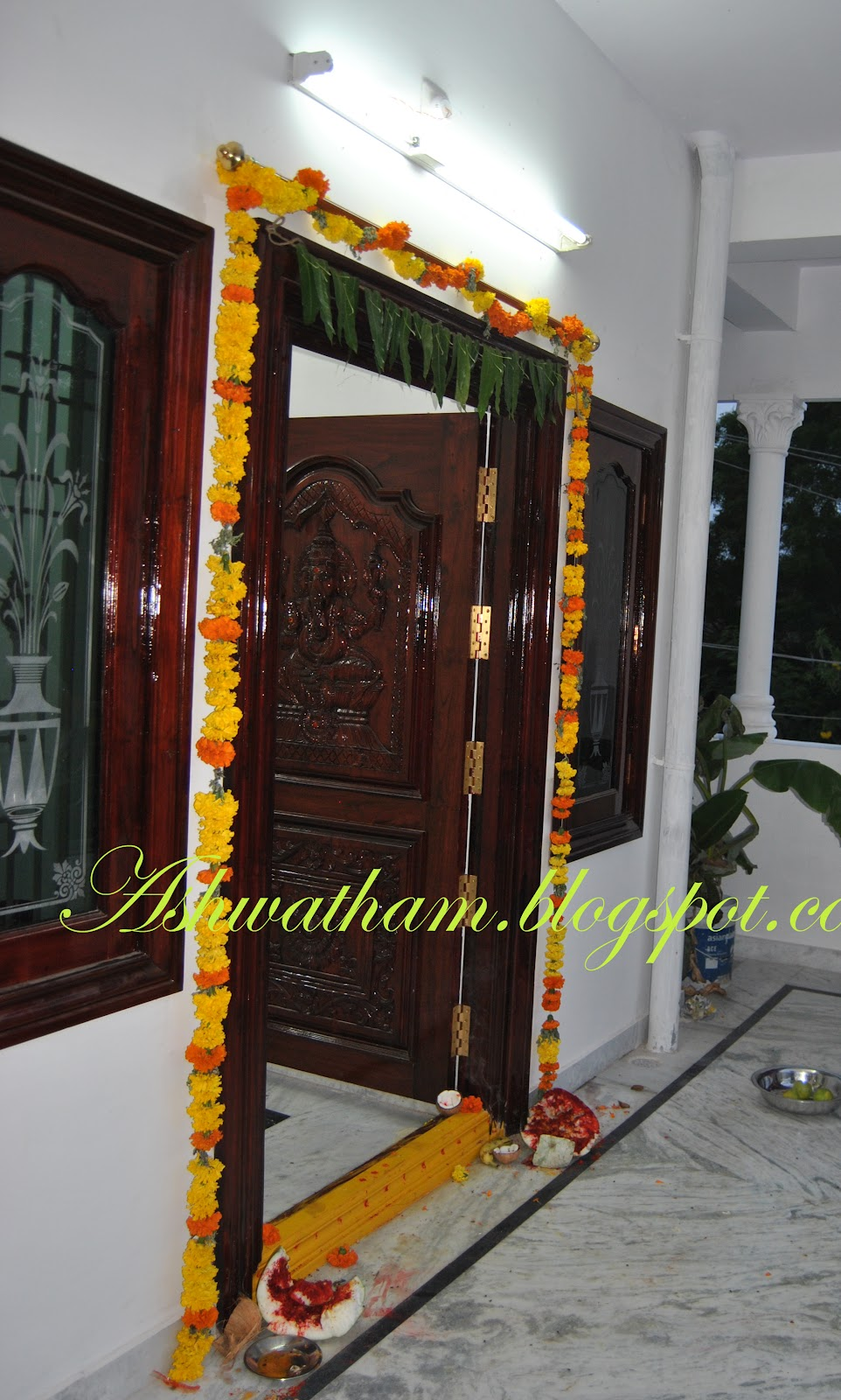 Ashwatham gruha pravesham house warming - Gifts for gruhapravesam ...