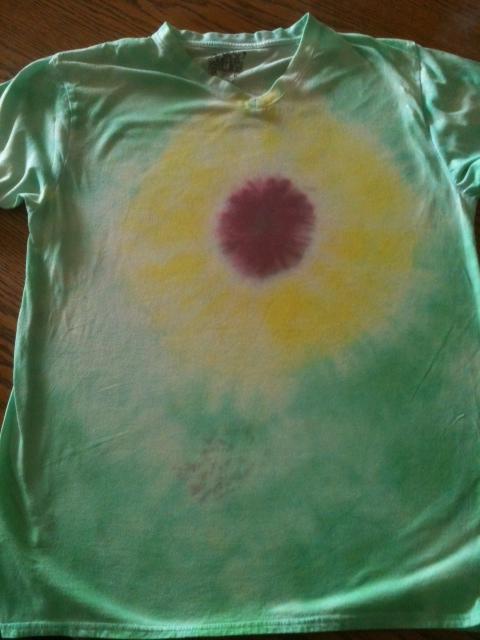 Hippies Child Teach Yourself Tie Dye Challenge Sunflower