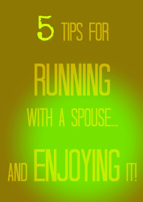 tips for running with a spouse