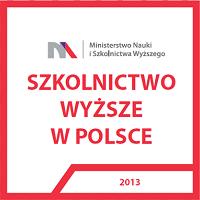 """Fragment okładki raportu """"Szkolnictwo Wyższe w Polsce"""", który opublikowało Ministerstwo Nauki i Szkolnictwa Wyższego"""