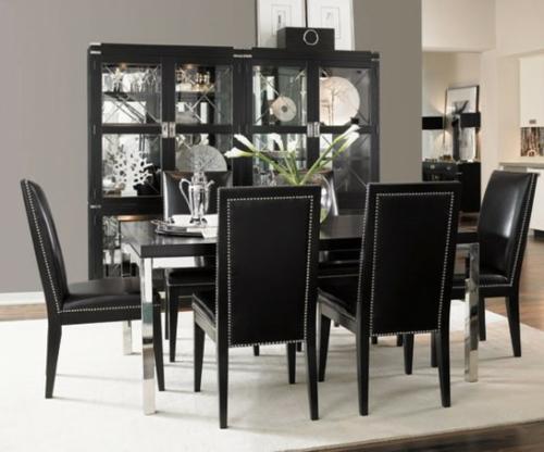 Comedores en color blanco y negro ideas para decorar for Comedores sobre diseno