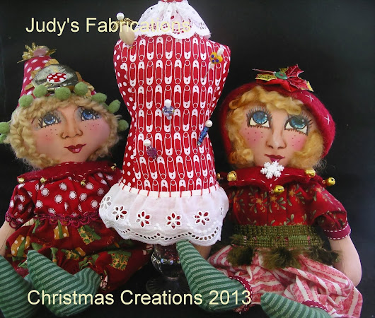 Two little elf girls with my latest pincushion gift