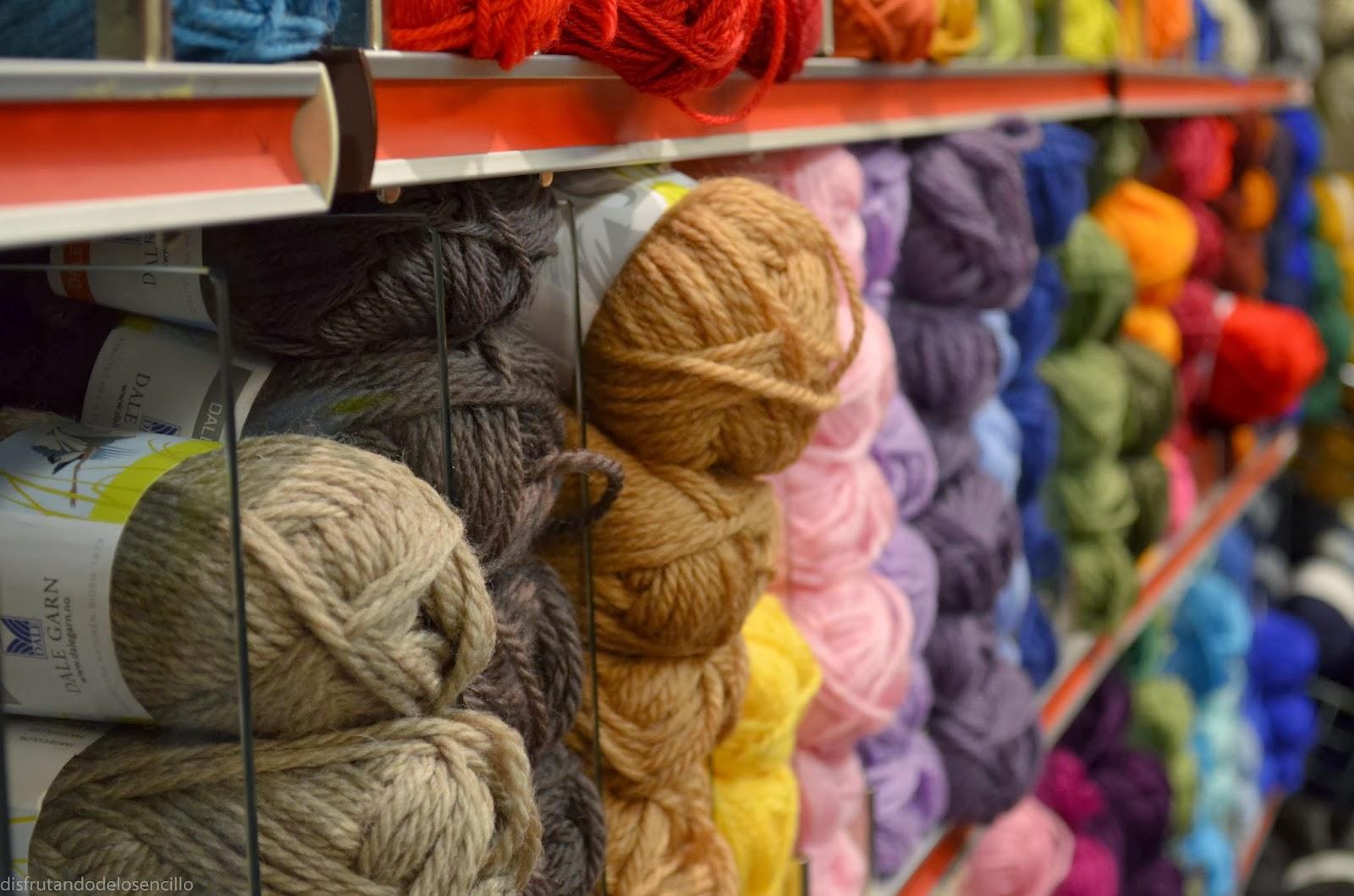 Heklekroken Tromso, lana colores