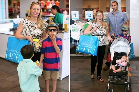 Melissa Joan Hart and kids