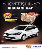 Makromarket-Untad-Renault-Clio-Çekiliş-Kampanyası