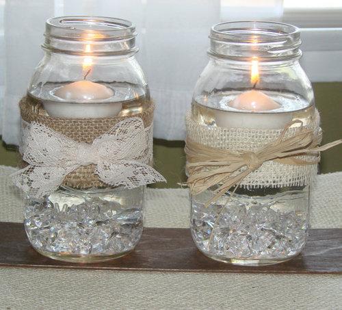 Masons mason jars and jars on pinterest for Mason jar crafts love