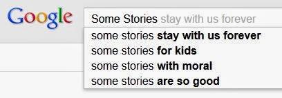 google poem some stories