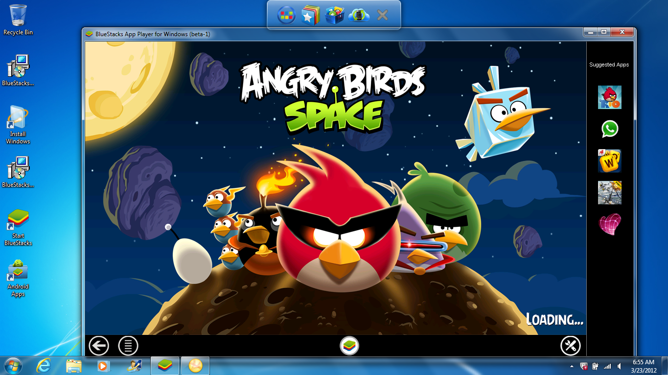 Angry Birds game Android kini bisa dijalankan d PC