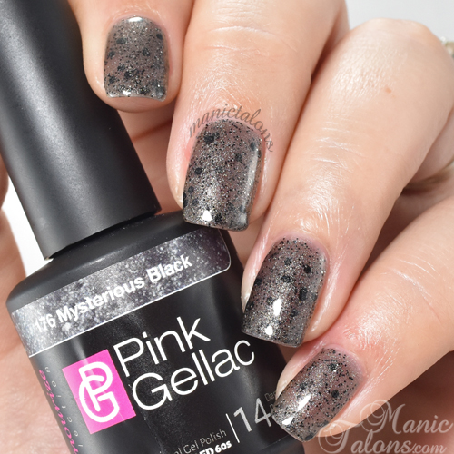Pink Gellac Mysterious Black