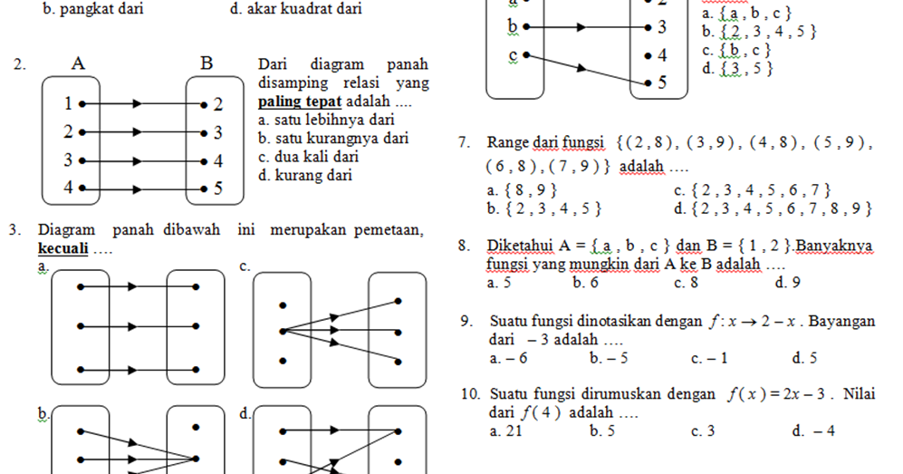 Contoh Soal Matematika Smp Bagian 2 Contoh Soal Matematika