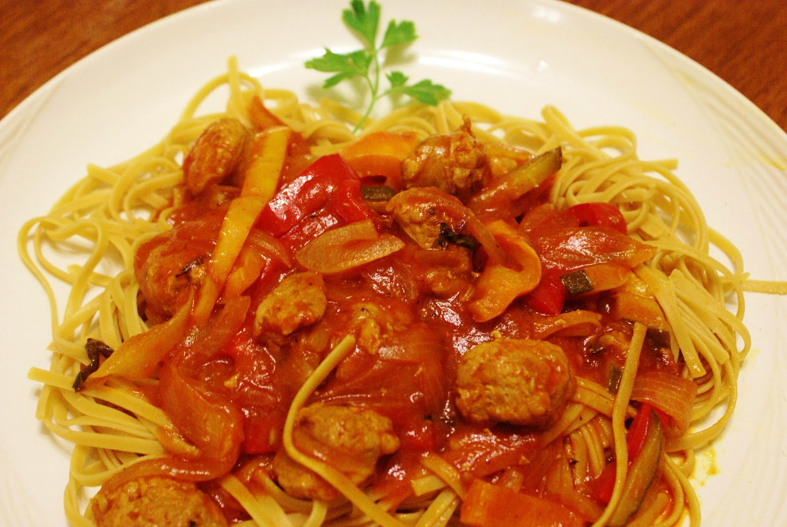 The Hungry Lovers: Sausage with Peppers and Onions