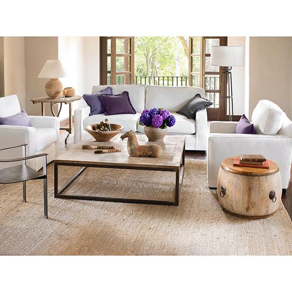 Cabin fever living room revamp for Revamp coffee table