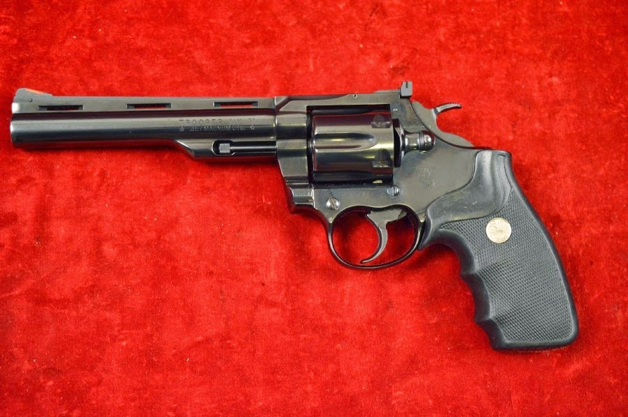 "Guns: Colt Trooper MkV .357 Mag. 6""barrel"