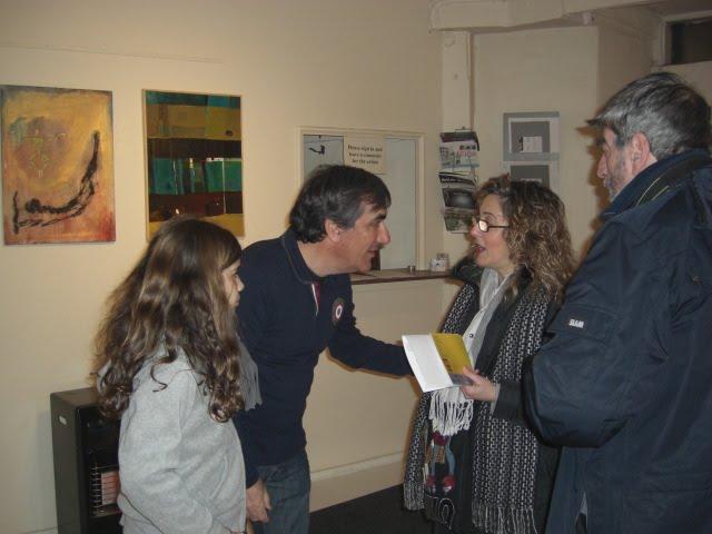 Lucia Sandroni was present