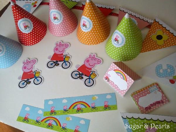 Η Πέππα κάνει ποδήλατο-Sugar & Pearls