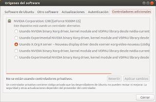 Instalar controladores nvidia 304.51 en Ubuntu 12.10 y Ubuntu 12.04 LTS, nvidia ubuntu 12.10, privativo nvidia 12.10