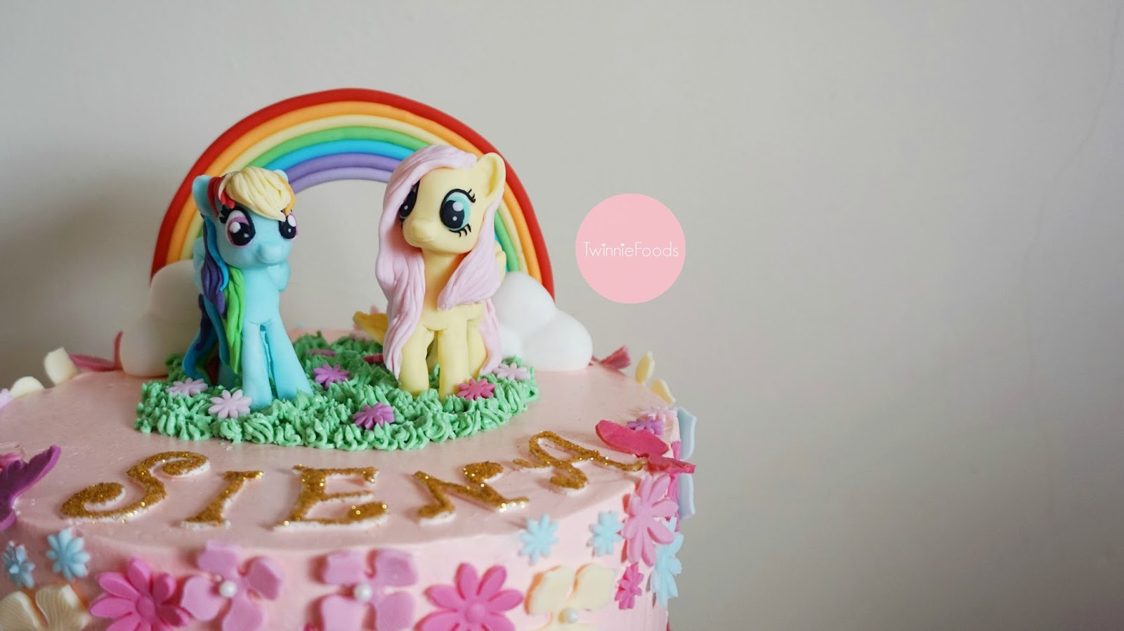 My Little Pony Fondant MLP Toppers Fluttershy